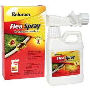 Enforcer - Flea Spray for Yards 8000 sq ft