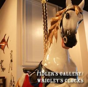 Fidler's Gallery / Wrigley's Clocks