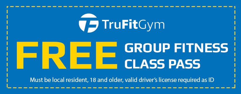 FREE Group Fitness Class Pass