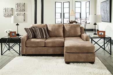 Alturo Upholstered Queen Sofa Chaise Sleeper Dune