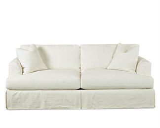 Bentley Upholstered Slip Cover Sofa