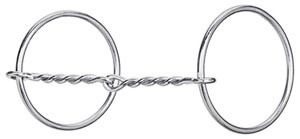 Weaver Snaffle Loose Ring Thin Twisted Wire