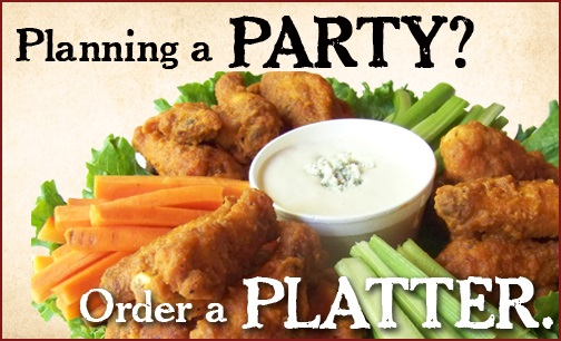 Planning a PARTY!? Order a platter!