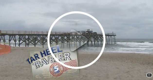 Watch the Tarheel Traveler video about historic Crystal Pier