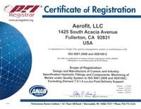 PRI Registrar Certificate