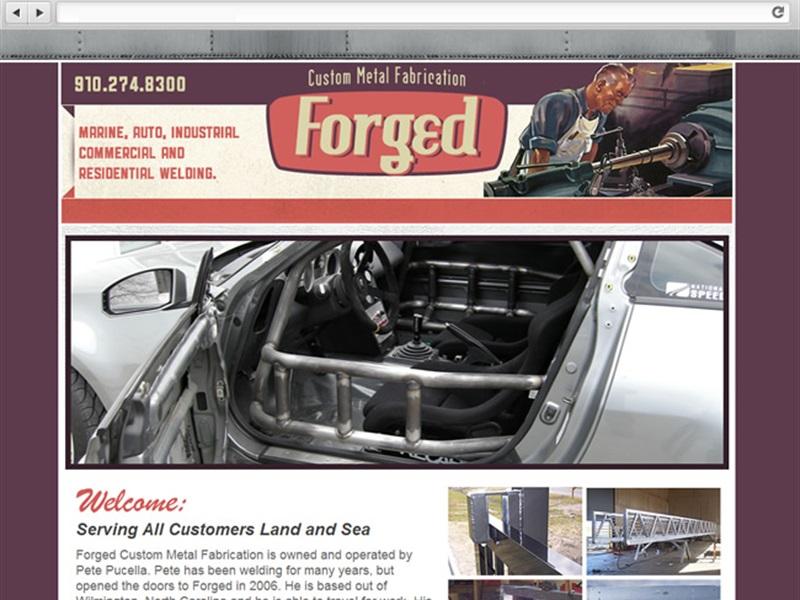 Forged Custom Metal Fabrication
