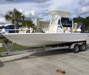 2018 Cape Bay 23 White with Tan Interior All Boat