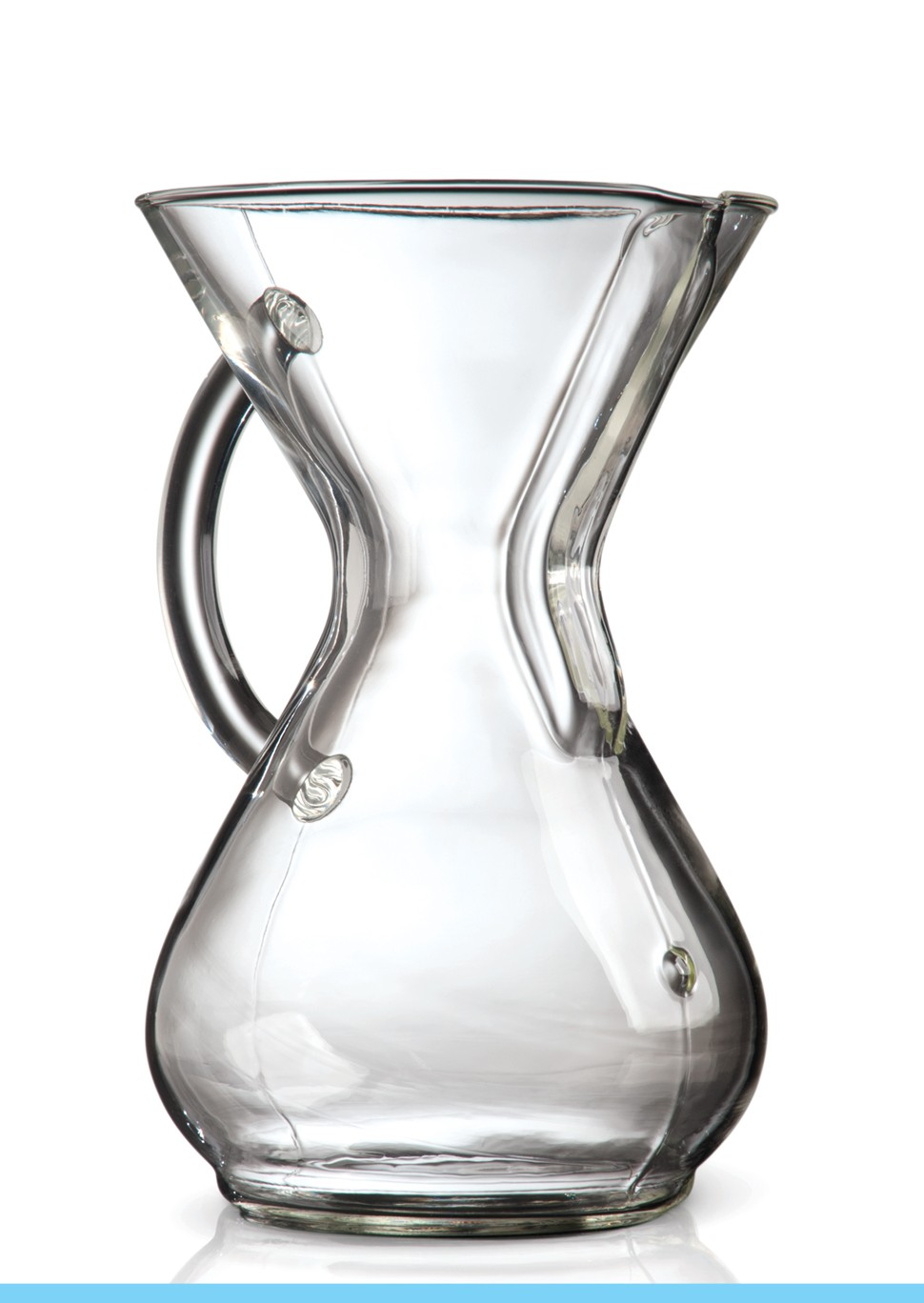Carolina Coffee CHEMEX® 6-Cup Coffeemaker With Glass Handle