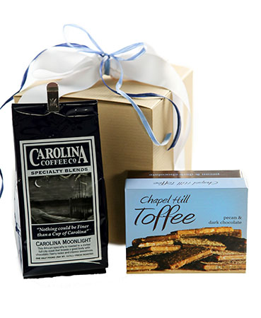 Carolina Coffee Chapel Hill Toffee and Coffee Gift Box