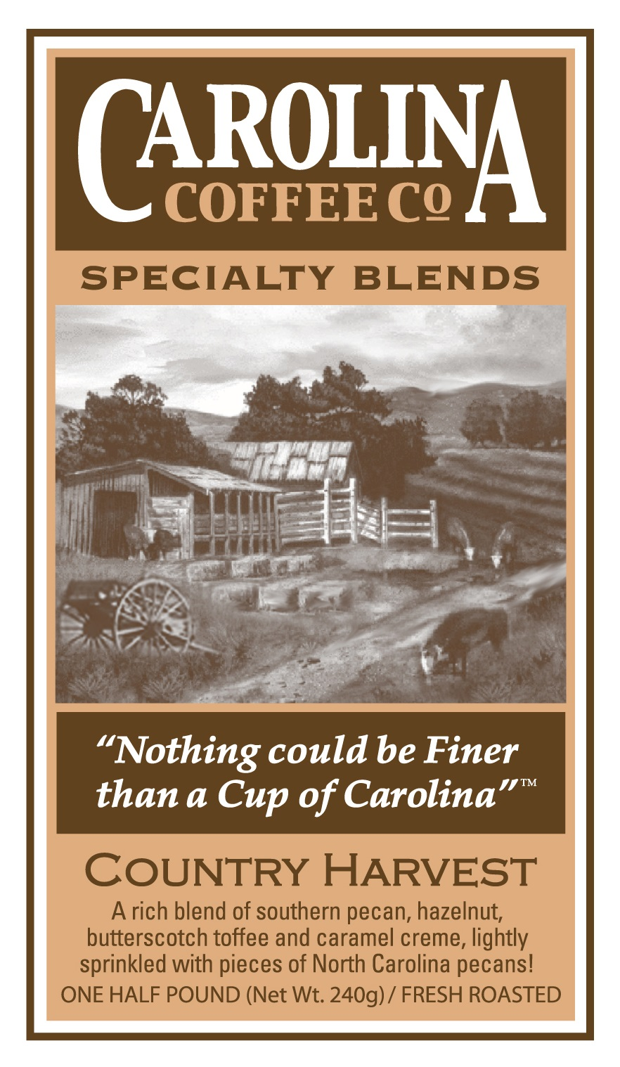 Carolina Coffee Country Harvest Blend