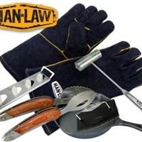 Man Law Premium BBQ Tools