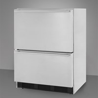 Summit 2-drawer outdoor refrigerator