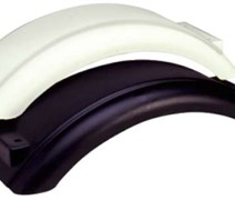 PLASTIC FENDER 8-12 INCHES WHT