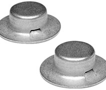 CAP NUTS 1/2IN  4/CD