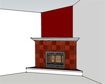 Morris fireplace design