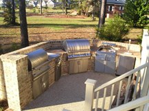russell outdoor kitchen