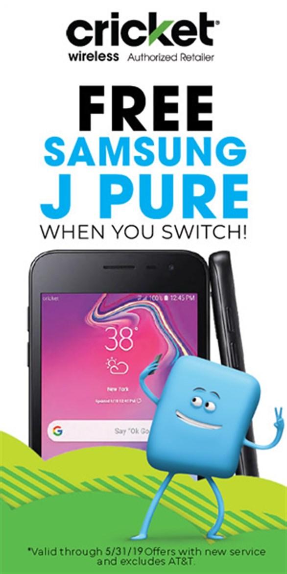 Cricket Wireless - Deals on J Pure Phones