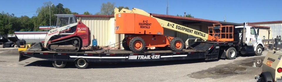 Contact A-Z Equipment Rentals, Wilmington, NC