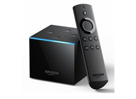Fire TV Cube, hands-free with Alexa & 4K Ultra HD, streaming media player