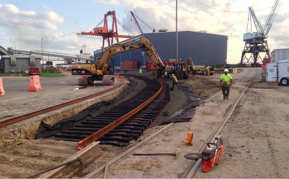 Markets We Serve Railroad Construction Amp Maintenance