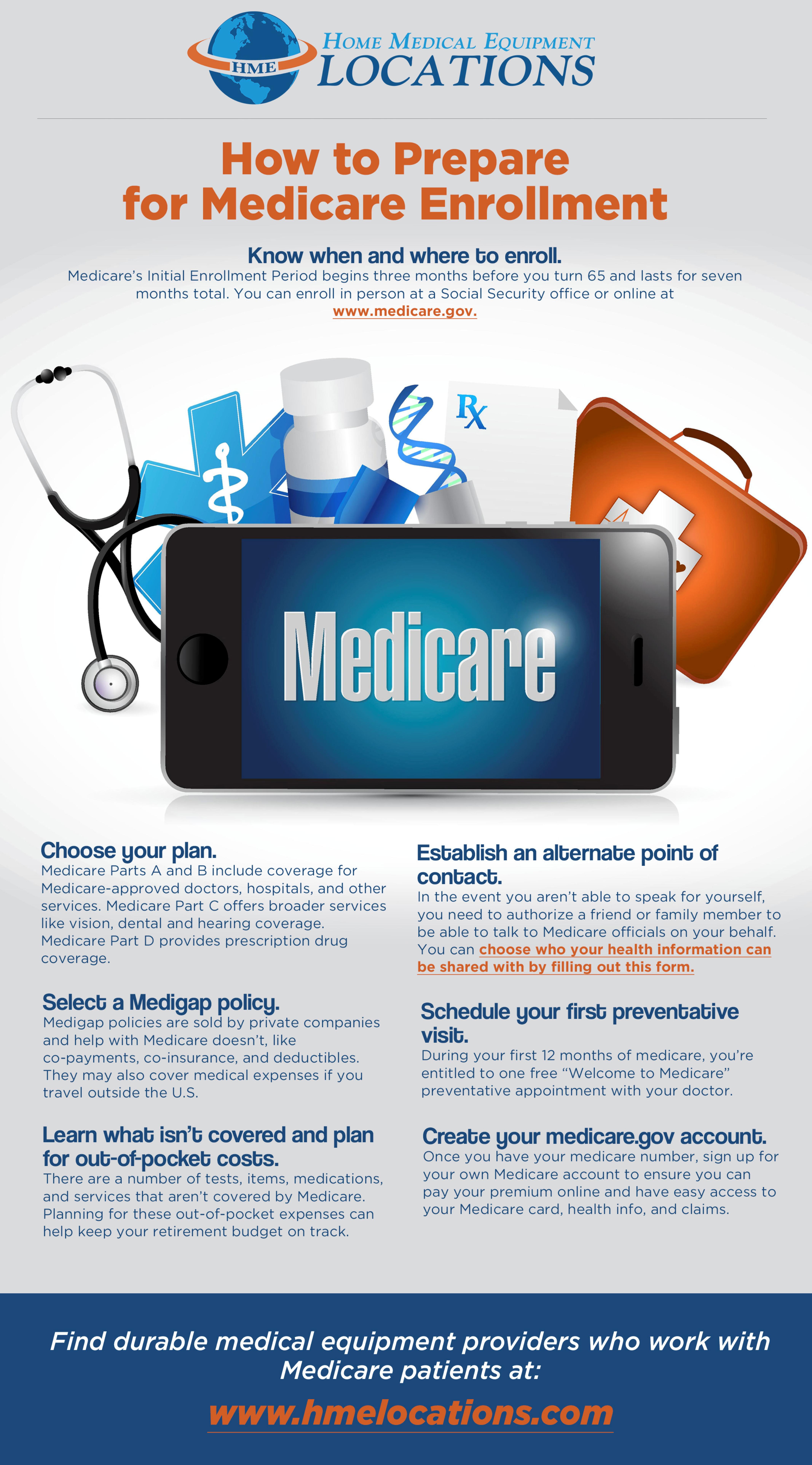Medicare enrollment tips