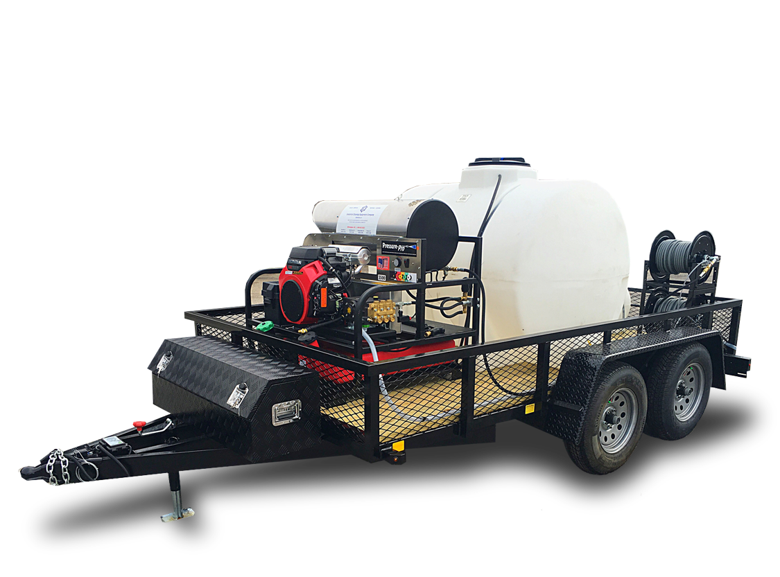 Power Amp Pressure Washing Trailers Mud Dog Trailers