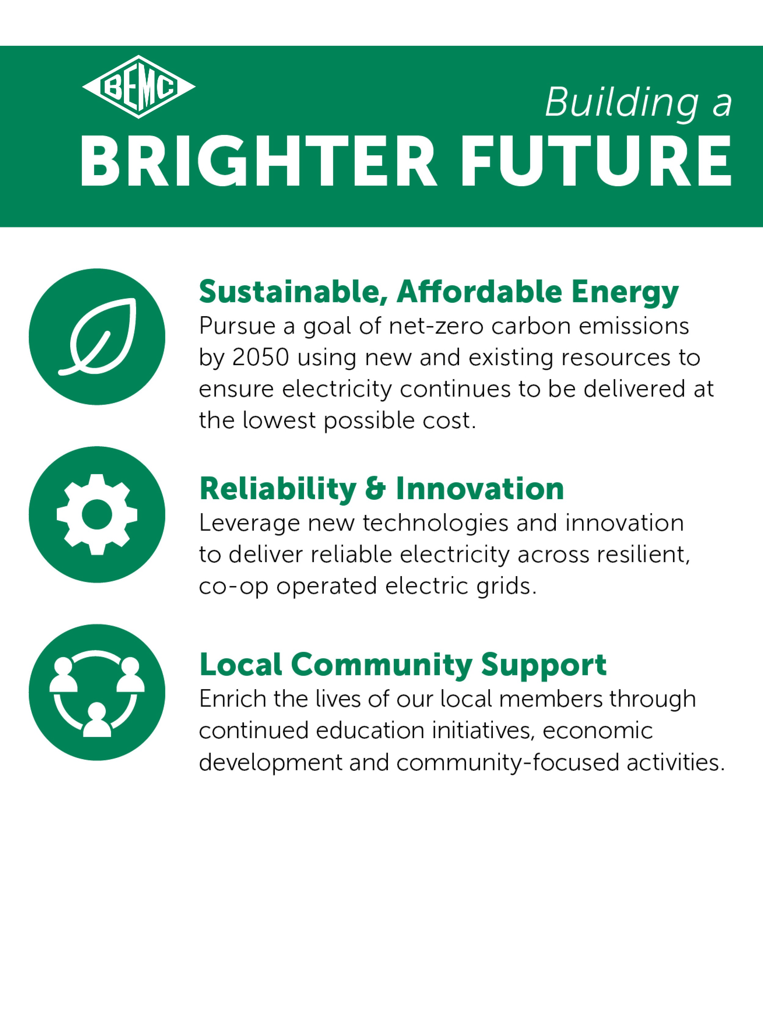 Brunswick Electric Announces Efforts to Build a Brighter Future for Local Communities