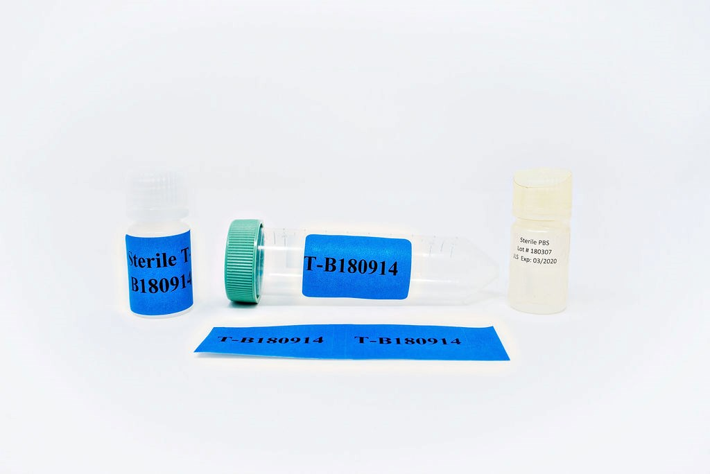 Bio Vial Assembly w/ DI Water, TRAINING
