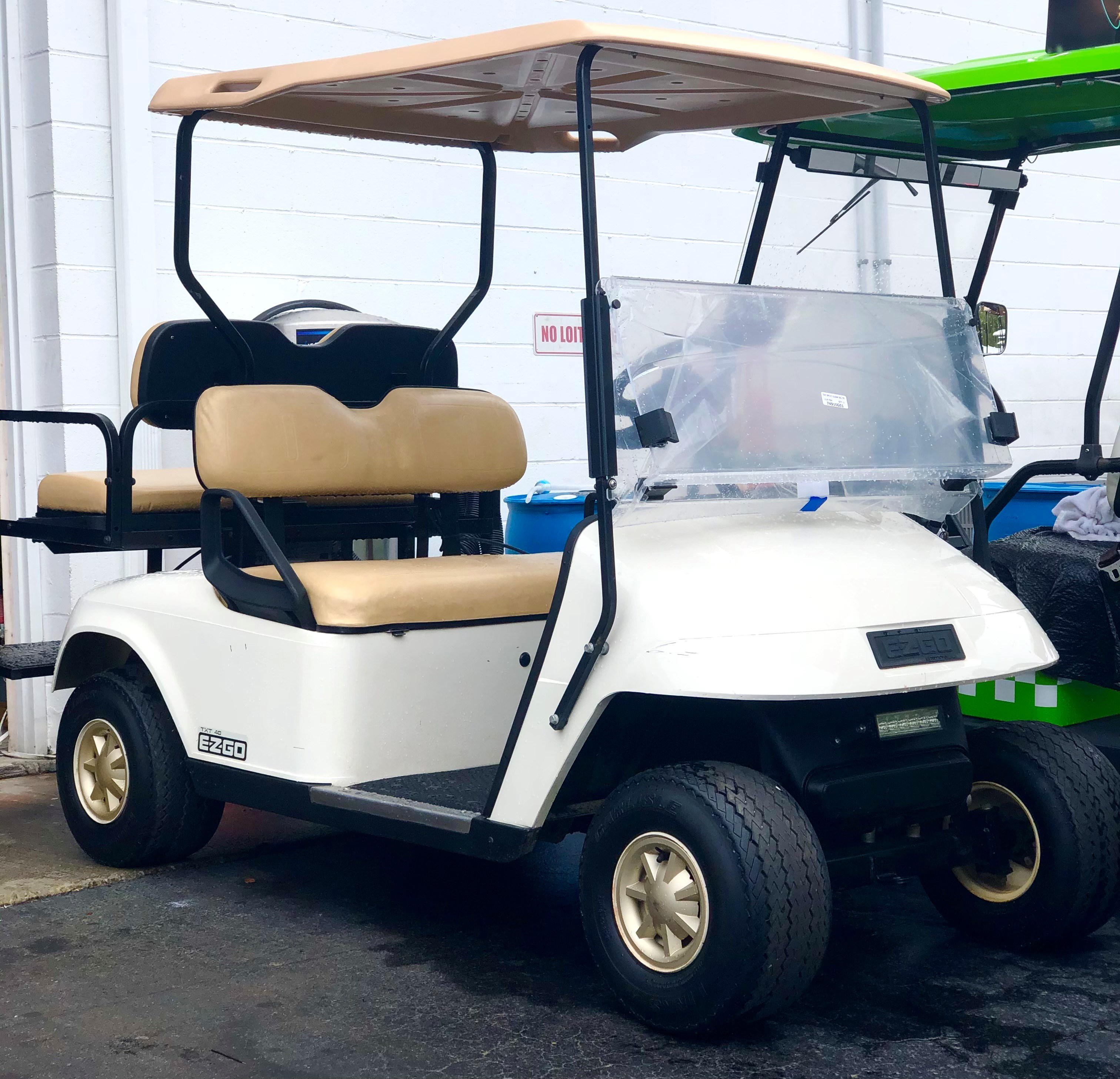 USED 2011 EZGO 4 PASSENGER WITH 2017 BATTERIES-MULTIPLE AVAILABLE (GOOD CONDITION)