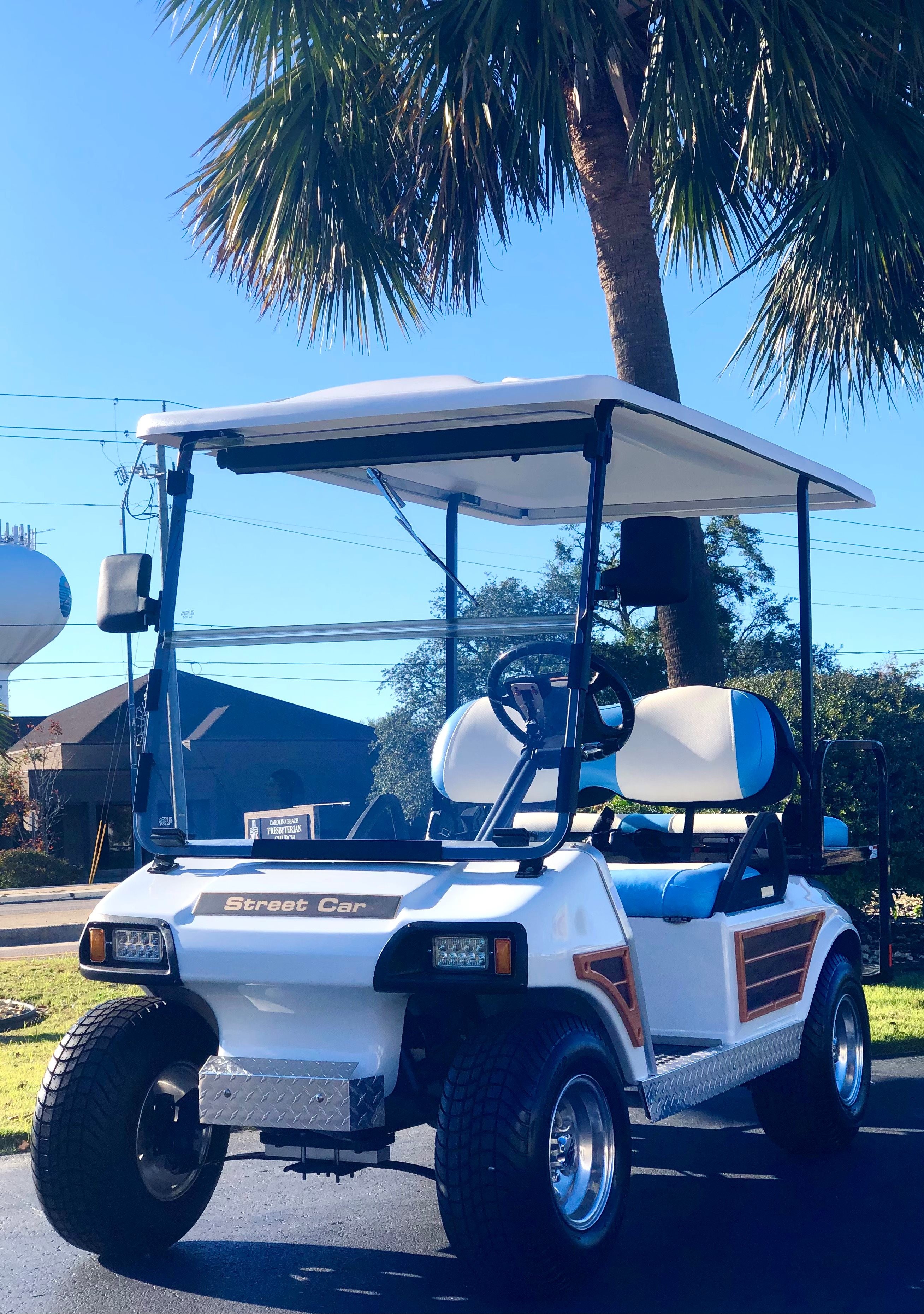 2008 WOODY Club Car DS remanufactured 4 Passenger NON-LIFTED