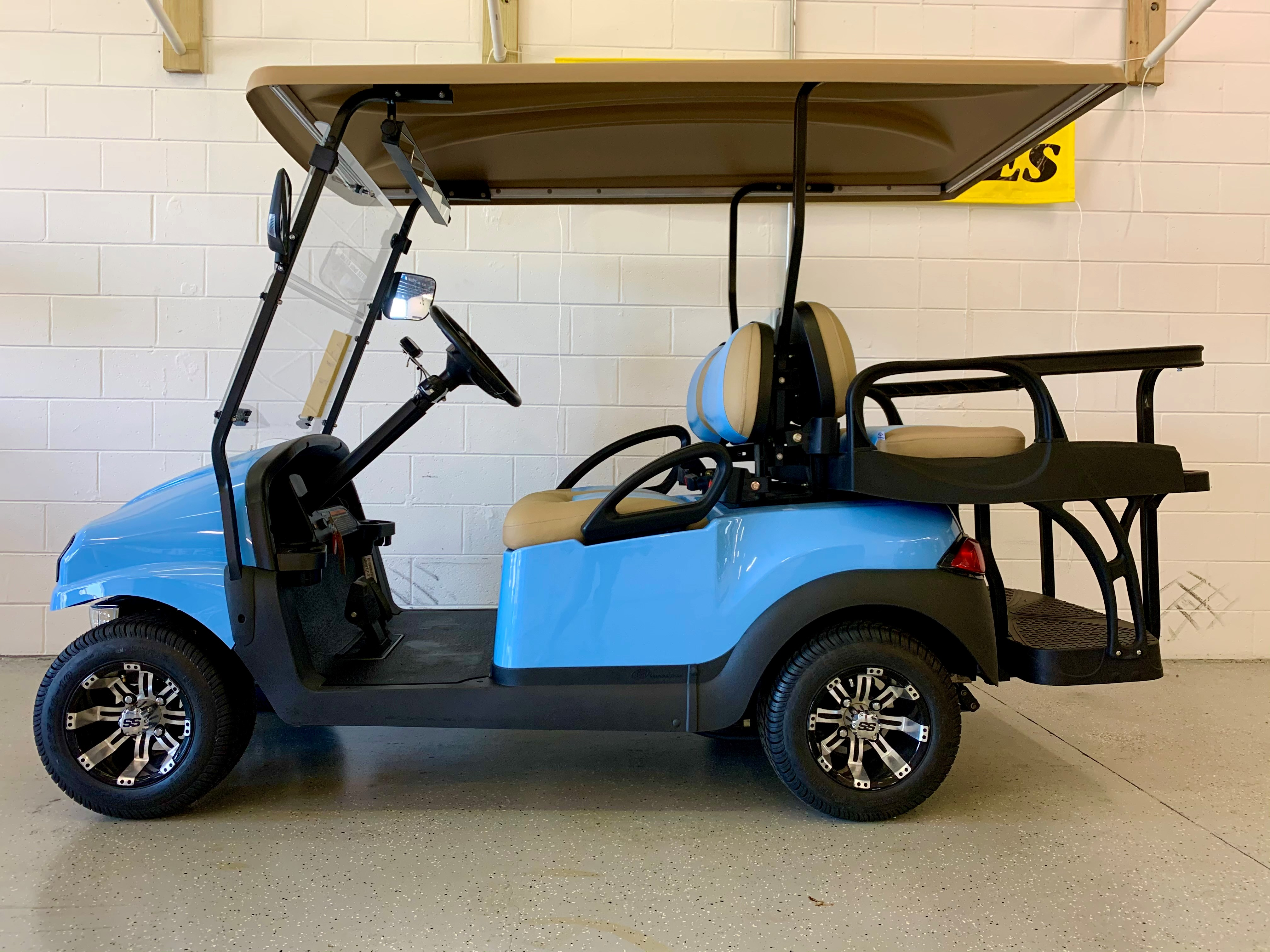 2021 Club Car PRECEDENT Phantom 4 Passenger NON-LIFTED