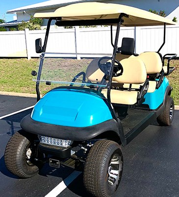 2020 Club Car 6 Passenger Lifted