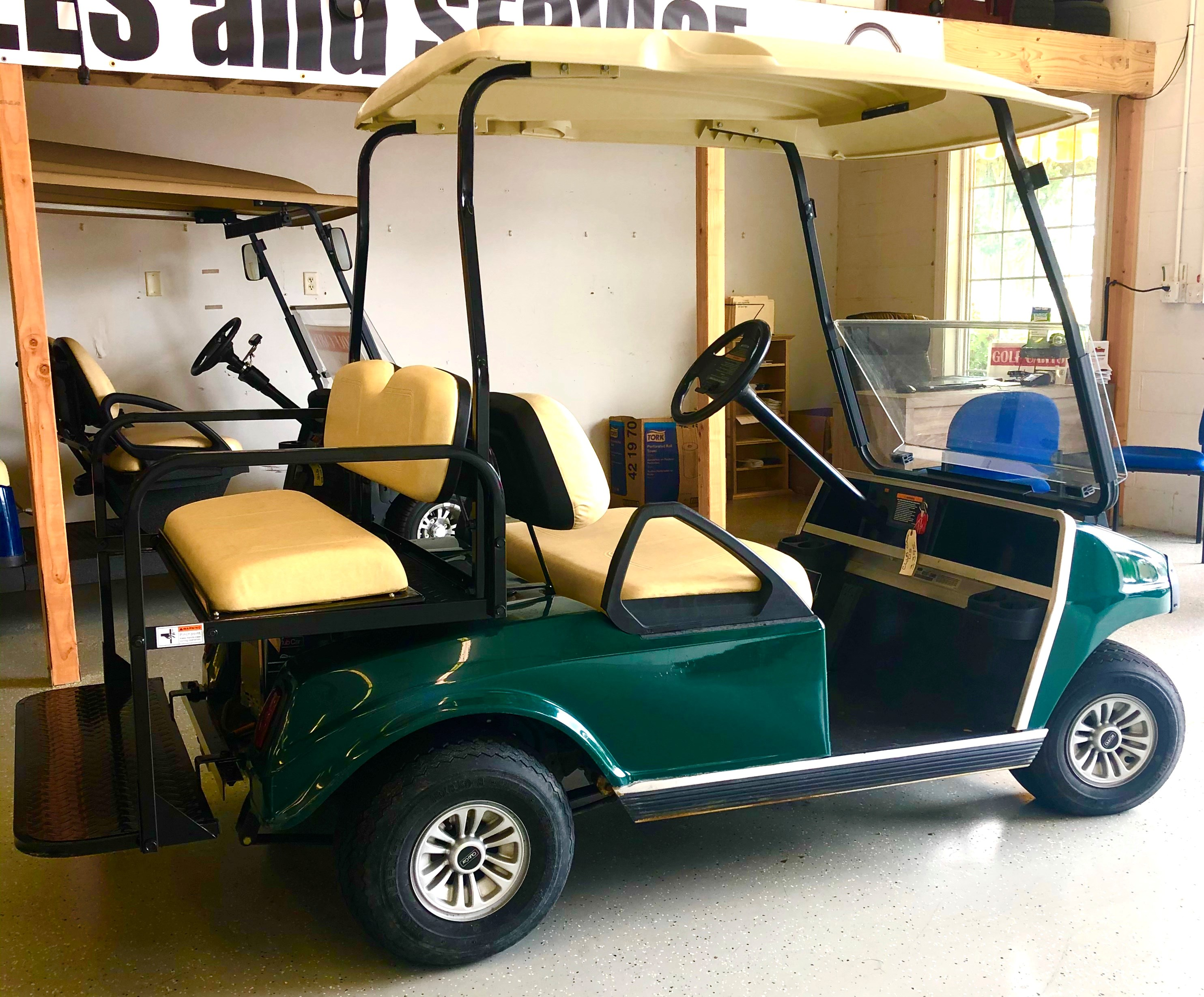 2012 Club Car DS 4 Passenger