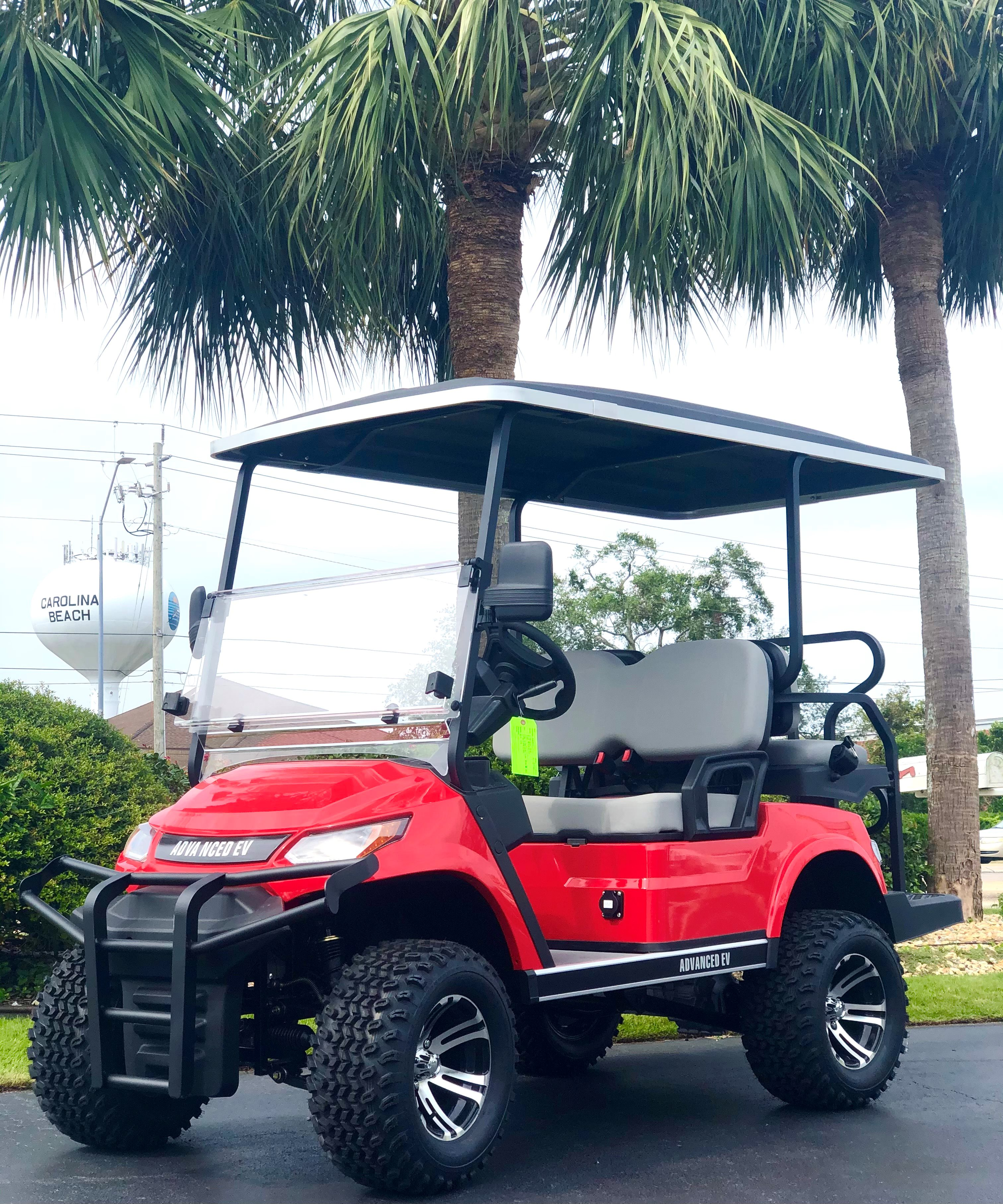 2021 AdvancedEV 4 Passenger Lifted GENERATION 2