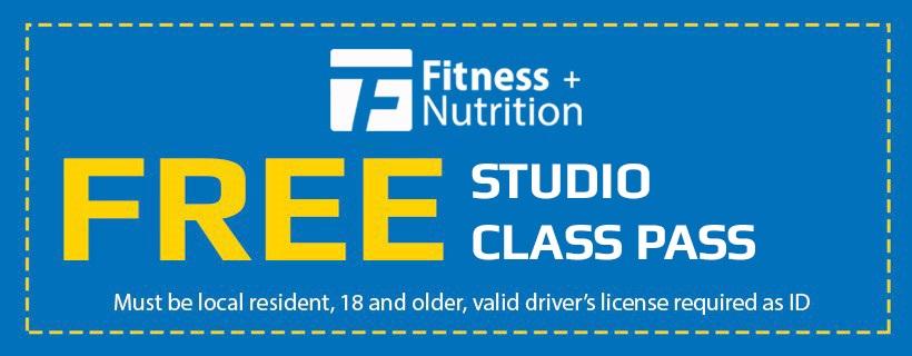 FREE Studio Class Pass