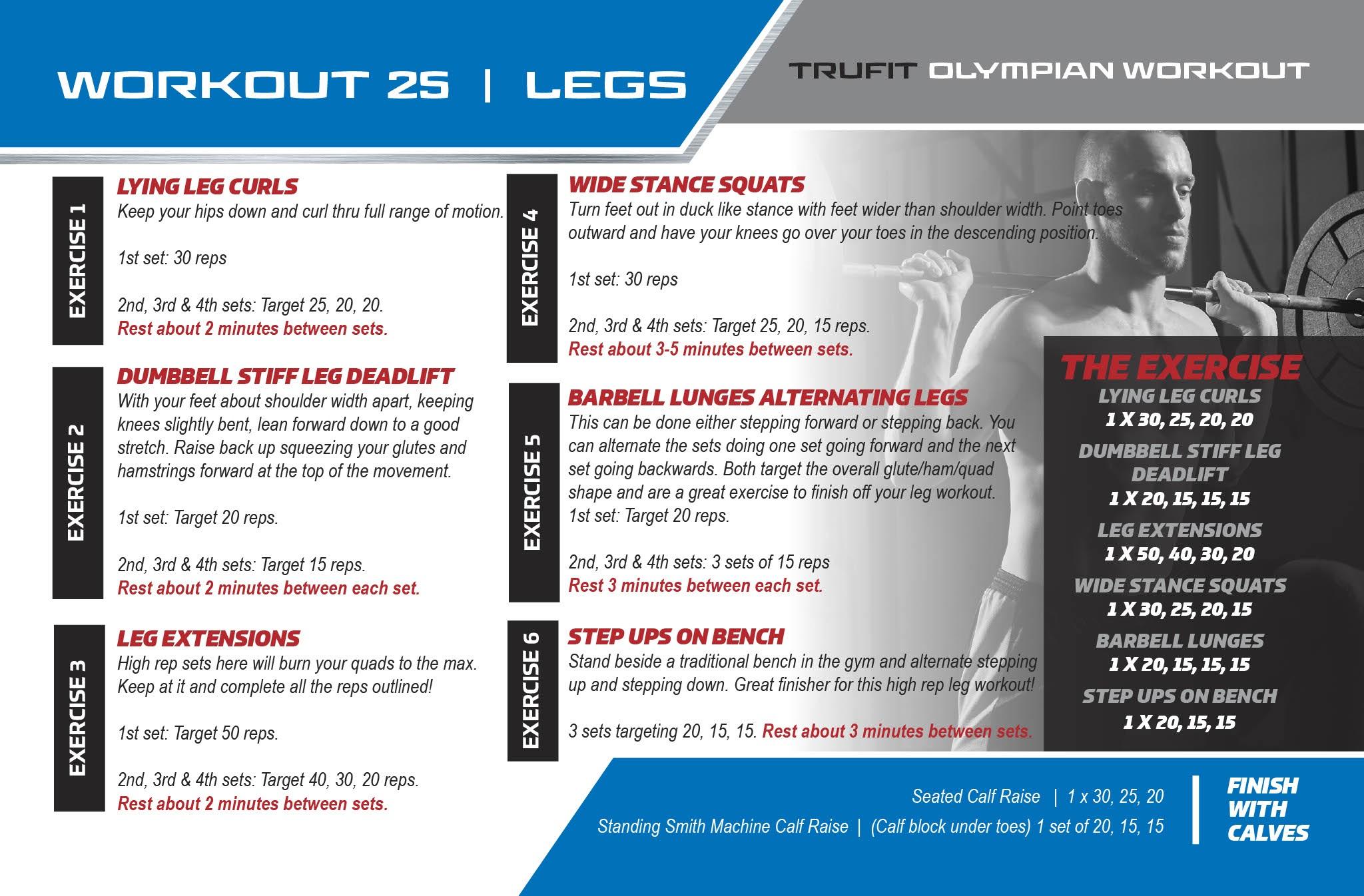 Day 25 - Legs