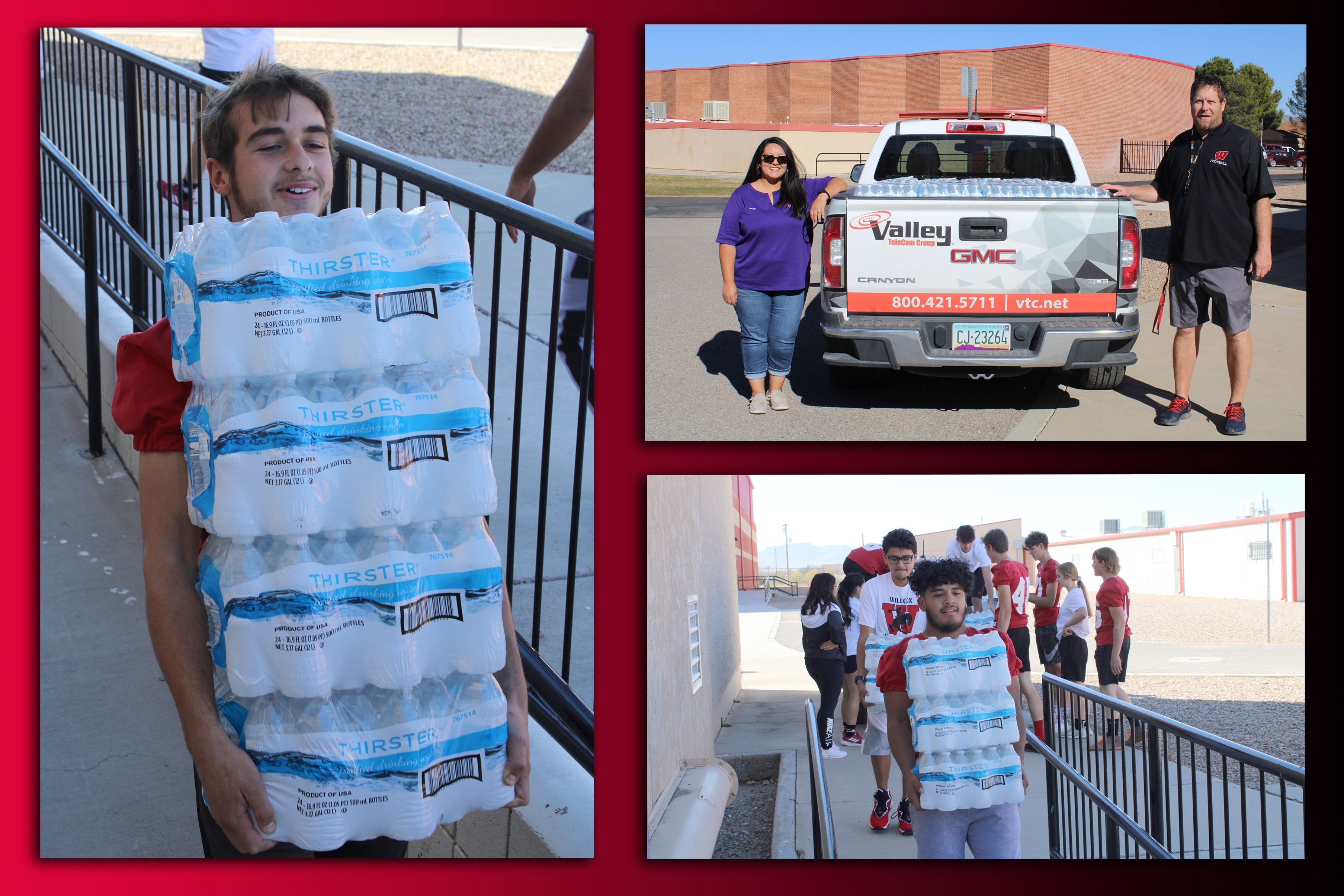 Willcox High School Water Delivery