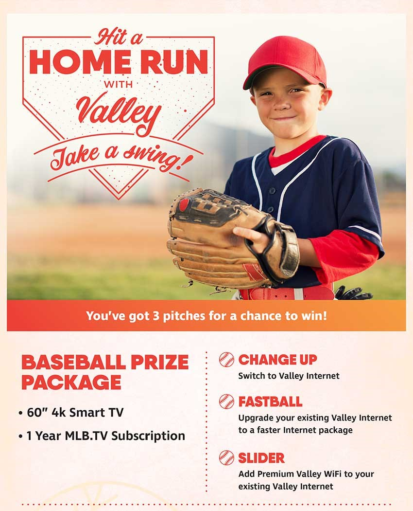 You've Got 3 Pitches For A Chance To WIn.