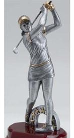 CAT-10 - Modern Female Golf Resin Figure ** As low as $10.95***