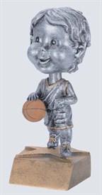 BH-6 - Male Basketball Bobblehead Figure