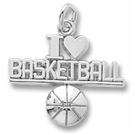 BBCL - Sterling Silver LOVE Basketball Charm