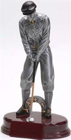 CAT-9 - Male Golf Resin Figure