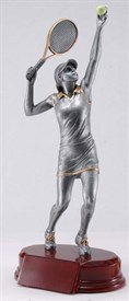 CAT-9 - Female Tennis Resin Figure