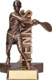 RST- Female Tennis Resin Figure