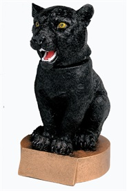 BHC - Panther Bobblehead Mascot