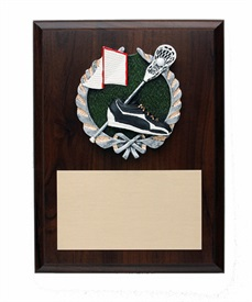 PDU68 - Lacrosse Resin Plaque