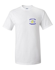 100% Cotton White T-shirt Order due by Friday, May 24, 2019
