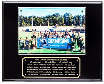 12x15 Full Color Photo Lacrosse Plaque