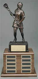 LSSF-14 - Female Lacrosse Player Sculpture