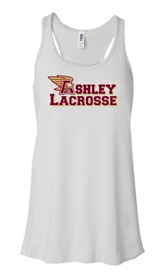 AHS Ladies White Soft style flowy tank top - Orders due by Friday, November 20, 2020